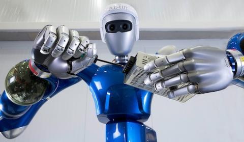 Der Roboter Justin (Foto: DLR)